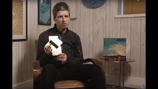 Noel Gallagher celebrates Number 1 album with Who Built The Moon  Official Charts