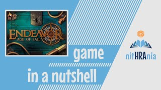 Game in a Nutshell - Endeavor Age of Sail (how to play)