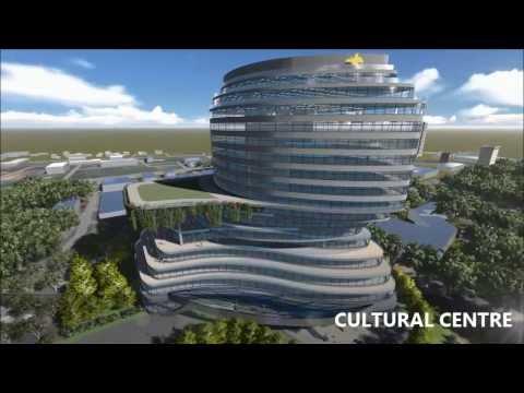 PPAdesign Architecture Papua New Guinea Embassy Jakarta Animation Presentation 1