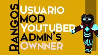 Repeat youtube video Tutorial Server.Pro: Como crear rangos Usuario|Mod|Admin|Owner|Etc