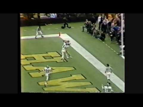 1985 Michigan State at #1 Iowa Highlights