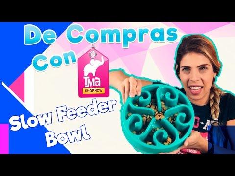 Slow Feed Dog Bowl! Slo-Bowl | De Compras con Tu Mundo Animal | TMA