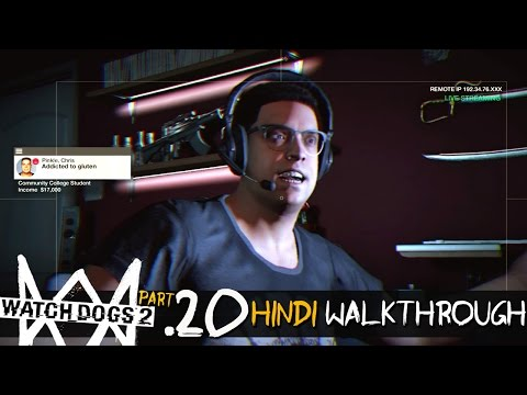 Watch Dogs 2 (Hindi) Walkthrough Part 20 - STOLEN SIGNALS / BAD PUBLICITY (PS4 Gameplay)