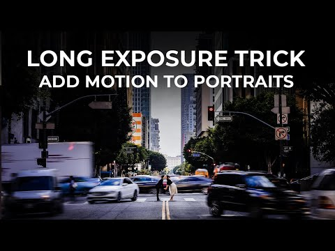 Using Long Exposures with Portraits