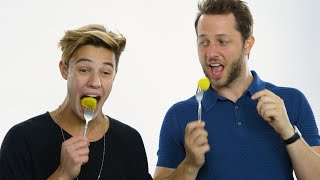 Cameron Dallas Eats Bugs, Chicken Feet & Other Weird Stuff | Vanity Fair