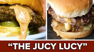 Restaurant vs. Homemade: The Juicy Lucy Burger