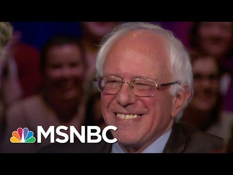Bernie Sanders: 'Am I Really Larry David?' | Democratic Forum | MSNBC