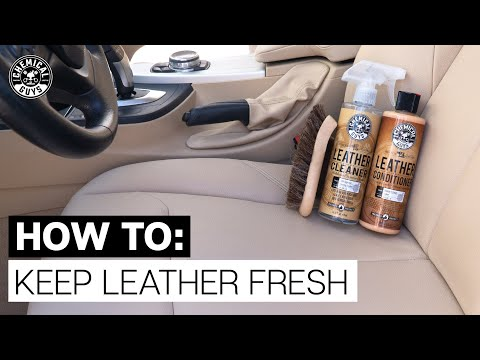 How To Keep Leather Like New! - Chemical Guys