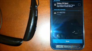 LG Tone Pro HBS750 - Bluetooth Headset - Tutorial - How to Use