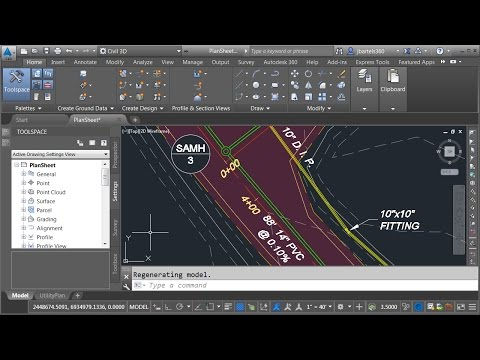 Labeling Civil 3D objects through an XREF