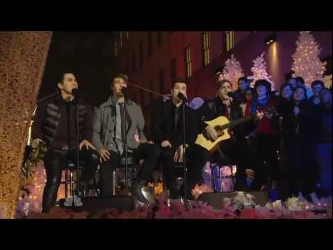Big Time Rush - All I Want For Christmas Is You (Live at Rockefeller Center 30 Nov 2011)
