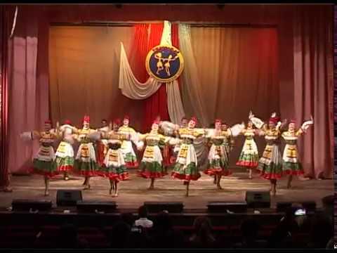 Народный танец. 3 возрастная - 14 - 16 лет.