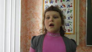 """Страна читающая-Екатерина Вворонова читает стихотворение В.Брюсова """"Опять сон"""""""
