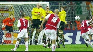 Thierry Henry vs Borussia Dortmund Away 2002/03 Champions League