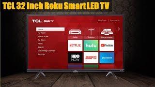 TCL (32S325) 32 Inch 720p Roku Smart LED TV