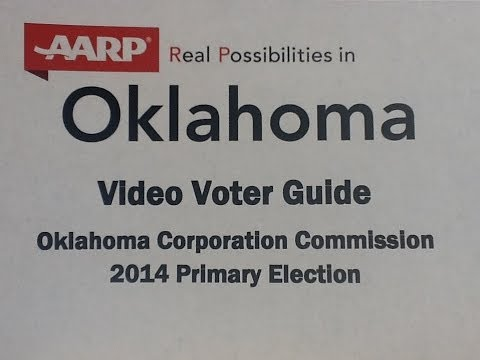 AARP Oklahoma 2014 Corporation Commission Video Voter Guide