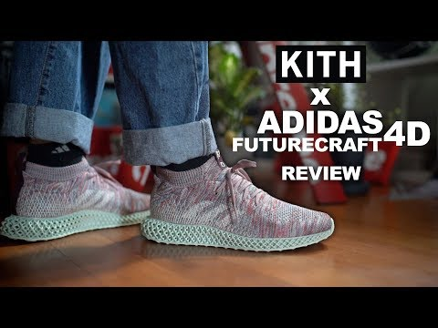 new concept f4eec ad88b Only 800 Of These Were Made! Kith x Adidas Futurecraft 4D On ...