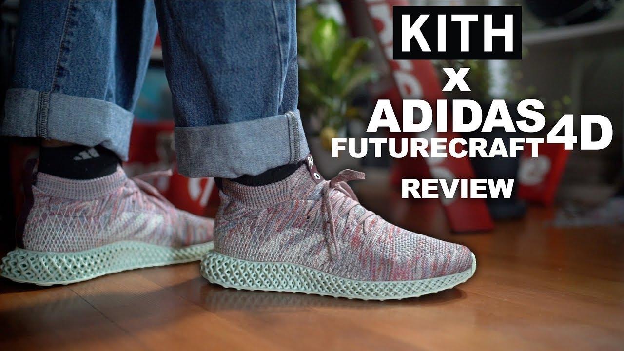 Kith x Adidas Futurecraft 4D On Feet