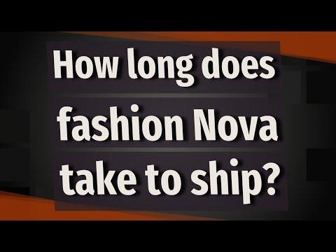 How Long Does Fashion Nova Take To Ship?