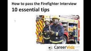Firefighter Interview
