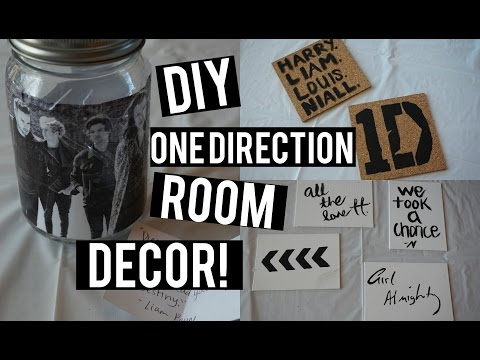 Diy One Direction Room Decor Collab W Charley