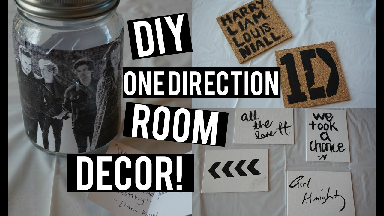 Diy One Direction Wall Decor : Diy one direction room decor collab w charley