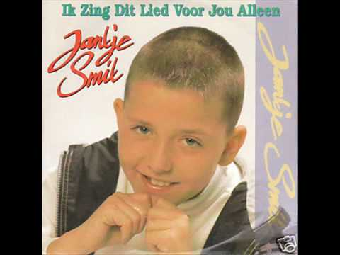 Jan Smit was nog Jantje en zong voor z'n oma in 1997