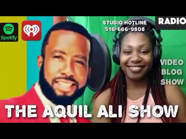 Kiki Lauderdale features on The Aquil Ali Show with April J