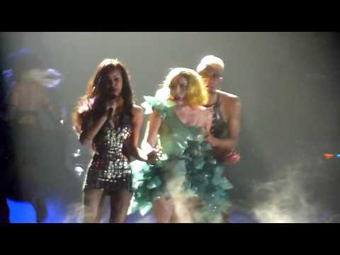 Lady Gaga - Paparazzi (Live in Boston July 2) HD