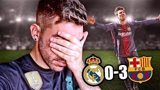 REACCIONANDO AL REAL MADRID 0-3 BARCELONA (ZONA VIP)