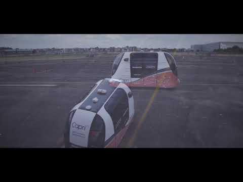 Capri Driverless Pod Trials At Filton Airfield