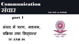 संचार COMMUNICATION PART 1