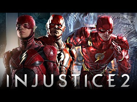 Injustice 2 Ranked Online - Justice League Movie FLASH Gear!!