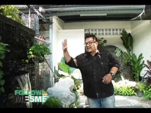 น้ำตกจำลองบ้านช่างศิลป์  Follow Me SME 2ม.ค.56 1/4