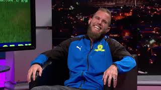 Gambar cover Thomas Mlambo, host of sport @ 10 chats to footballer Jeremy Brockie