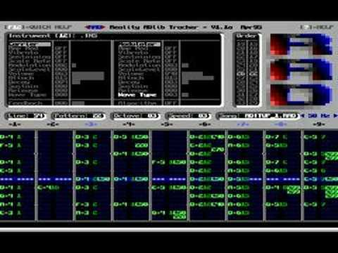 Adlib Music Tools, Part 1: Reality ADlib Tracker (RAD)