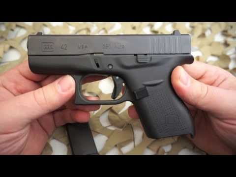 """Glock G42 380ACP 3"""" Pistol NEW Review and Overview   Texas Gun Blog"""