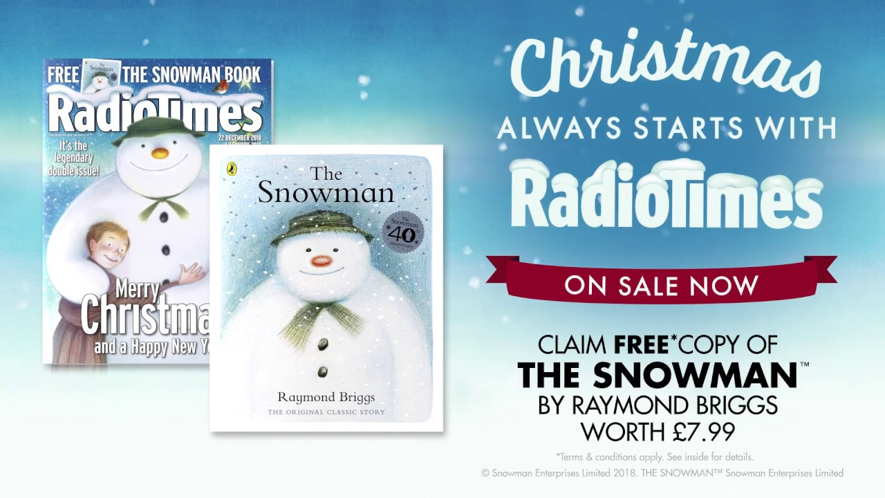 Free Christmas Radio.Radio Times 2018 Christmas Cover Revealed