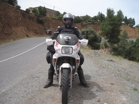 [Slow TV] Motorcycle Ride - Morocco - Taroudant to Tizi n' Test