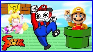 Best MARIO Games EVER ! Let's Play Roblox Mario Obby, Super Mario Maker, and MORE with Combo Panda