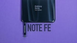 Galaxy Note FE Revisit