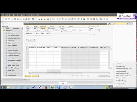 Financials Journal Entry + Financial Reports