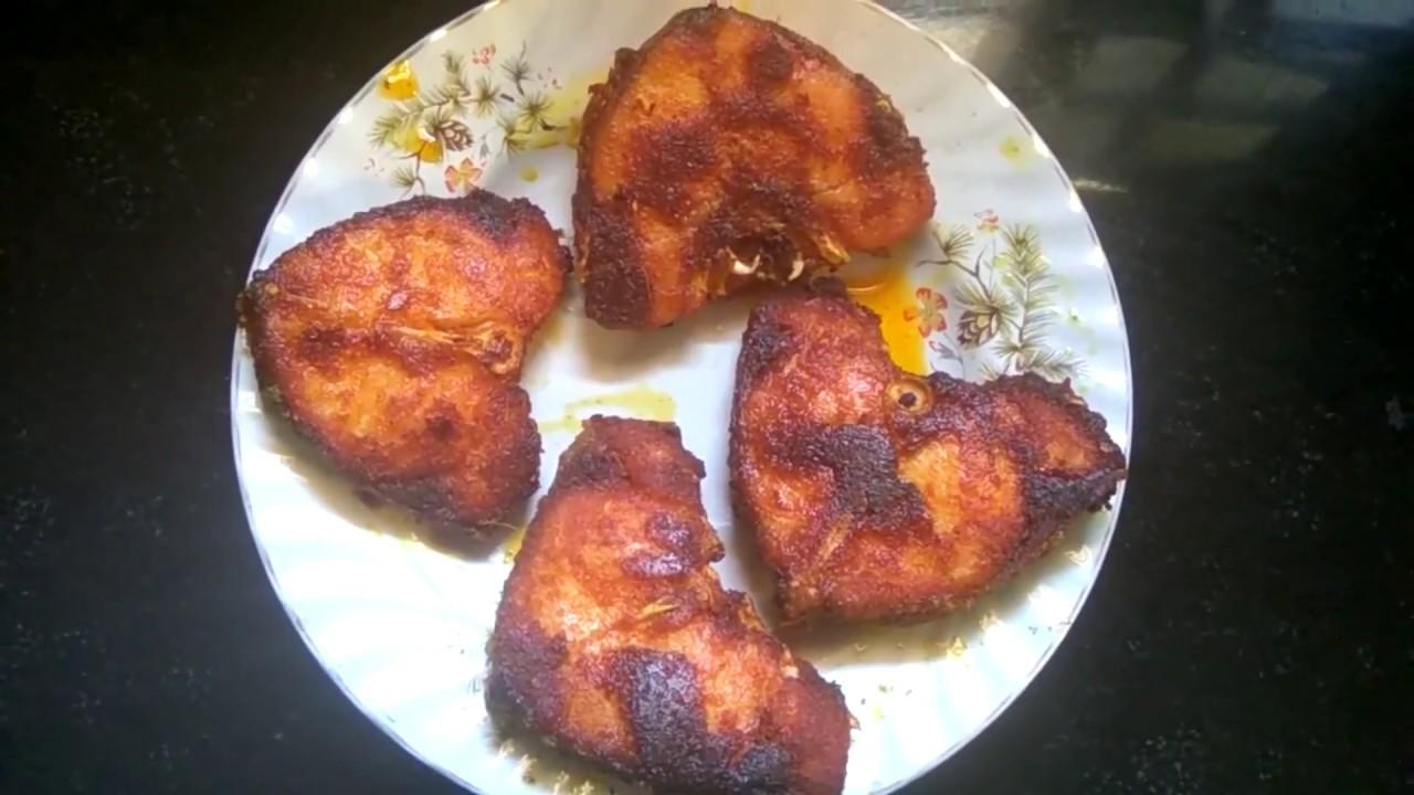 Masala fish fry recipe youtube for How do you fry fish