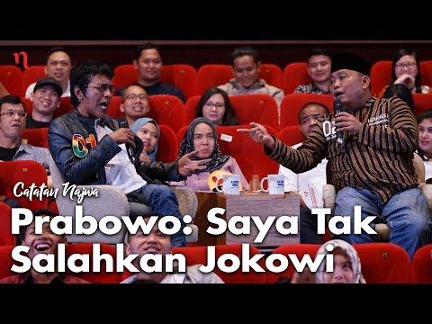 Nobar Debat Pilpres: Bawa Asyik Politik - Prabowo: Saya Tak Salahkan Jokowi (Part 3) | Catatan Najwa