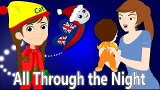 All Through the Night | Welsh Christmas Songs For Children | British Kids Songs Xmas Series