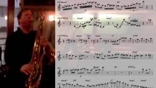 Chris Potter transcription: Four