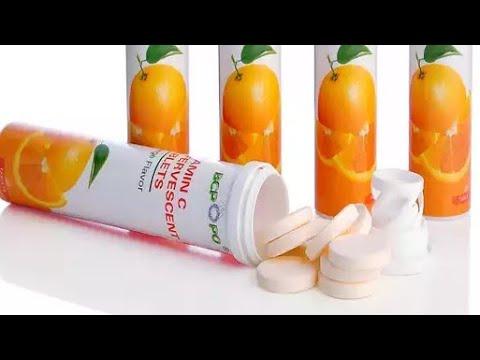 فوائد مهمه اقراص فيتامين C سي للبشره والشعر ولرفع مناعة الجسم Youtube