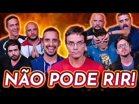 NÃO PODE RIR com Peter Jordan Bufão Digital Matheus Mad Bruno Romano e Maurício Ozório