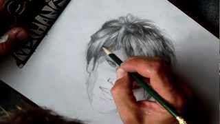How to Draw Frederick Douglass Step by Step