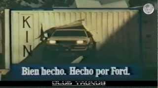 Club Taunus Argentina - Ford Taunus - Publicidad Argentina - 1983